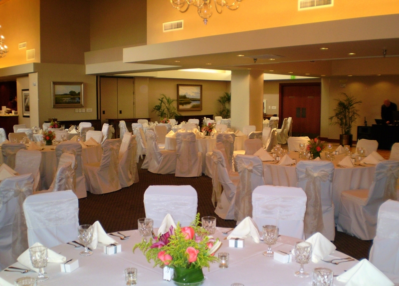 Ballroom for wedding in ponte vedra